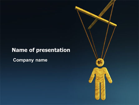 General: Marionette PowerPoint Template #07233