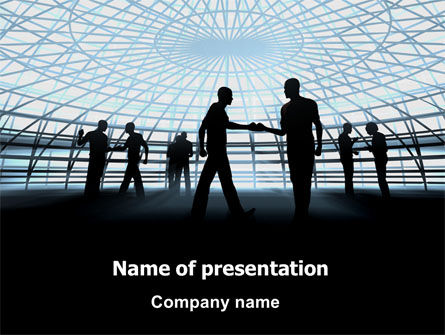 Business: Communication Tips PowerPoint Template #07234