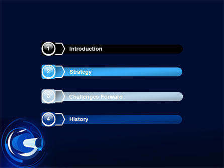 Technology Abstract PowerPoint Template, Slide 3, 07235, Technology and Science — PoweredTemplate.com