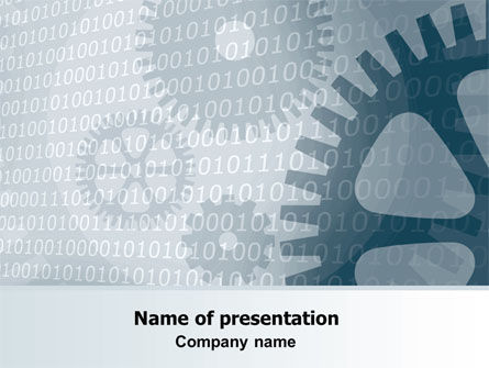 Technology and Science: Software Developing PowerPoint Template #07236