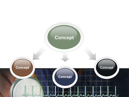 Heart Rate PowerPoint Template, Slide 4, 07237, Medical — PoweredTemplate.com