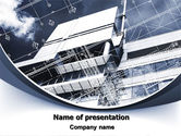 Abstract/Textures: Building Plan Project PowerPoint Template #07238