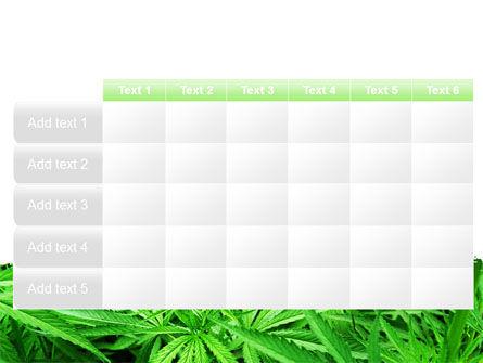 Cannabis PowerPoint Template Slide 15