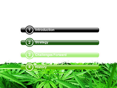 Cannabis PowerPoint Template, Slide 3, 07243, Legal — PoweredTemplate.com