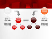 Red 3D Figures PowerPoint Template#19