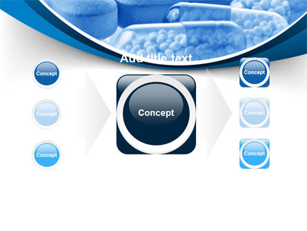 Blue Pills PowerPoint Template Slide 17