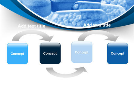 Blue Pills PowerPoint Template Slide 4