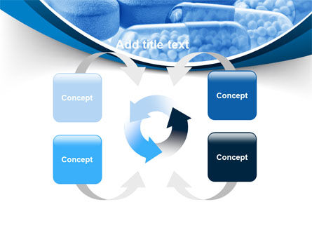 Blue Pills PowerPoint Template Slide 6