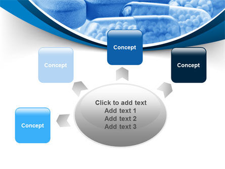 Blue Pills PowerPoint Template Slide 7