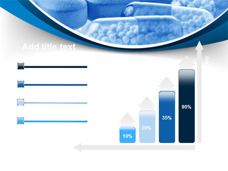Blue Pills PowerPoint Template Slide 8