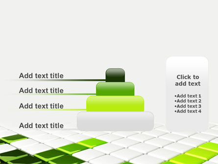 Green Square PowerPoint Template Slide 8