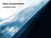 Construction: Hi-Tech Building PowerPoint Template #07251