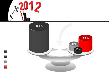 Time of 2012 PowerPoint Template Slide 10