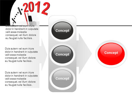 Time of 2012 PowerPoint Template Slide 11