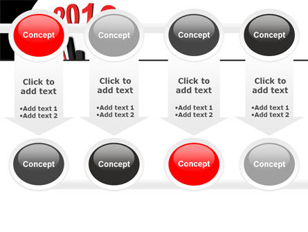 Time of 2012 PowerPoint Template Slide 18