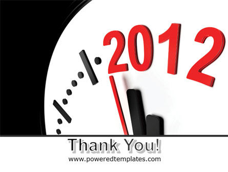 Time of 2012 PowerPoint Template Slide 20
