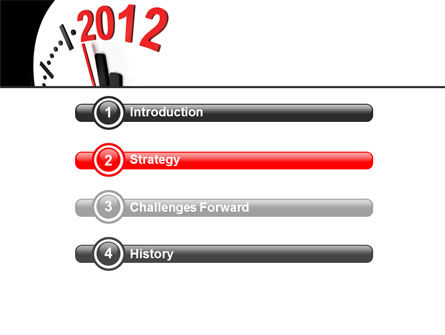 Time of 2012 PowerPoint Template Slide 3