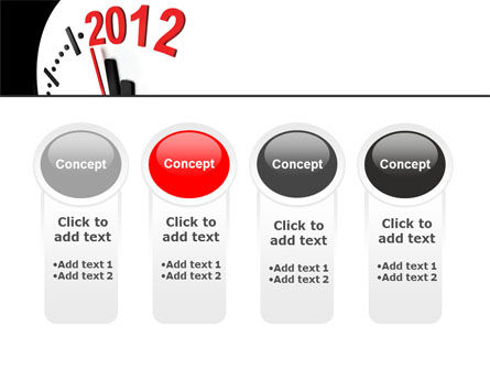 Time of 2012 PowerPoint Template Slide 5