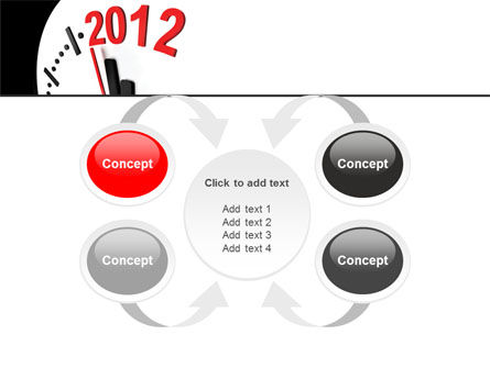 Time of 2012 PowerPoint Template Slide 6