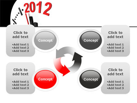 Time of 2012 PowerPoint Template Slide 9