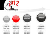 Time of 2012 PowerPoint Template#13