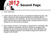 Time of 2012 PowerPoint Template#2
