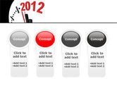 Time of 2012 PowerPoint Template#5