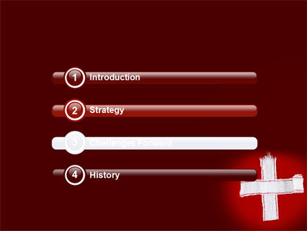 White Cross PowerPoint Template, Slide 3, 07253, Medical — PoweredTemplate.com