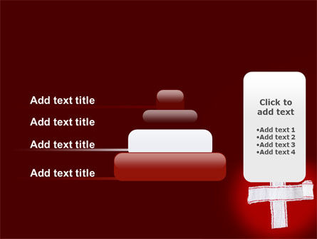 White Cross PowerPoint Template Slide 8