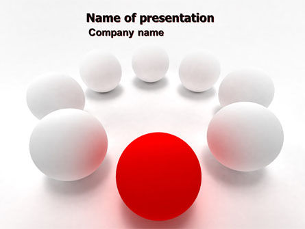 Be Other PowerPoint Template, 07255, Business Concepts — PoweredTemplate.com