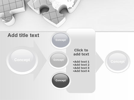 Continents As Puzzle PowerPoint Template Slide 17