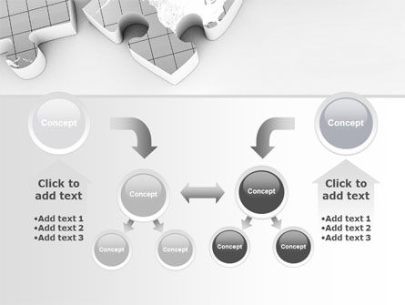 Continents As Puzzle PowerPoint Template Slide 19