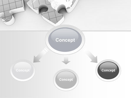 Continents As Puzzle PowerPoint Template Slide 4