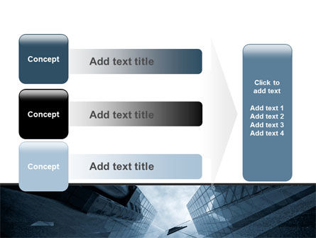 Skyscraper Tops PowerPoint Template Slide 12