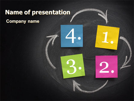 Logic Explanation PowerPoint Template, 07264, Consulting — PoweredTemplate.com