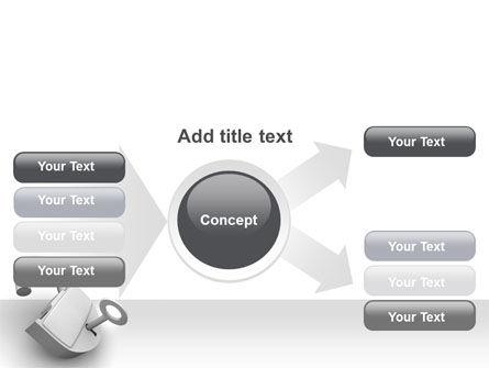 Unlocked Padlock PowerPoint Template Slide 14