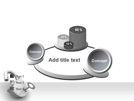 Unlocked Padlock PowerPoint Template Slide 16