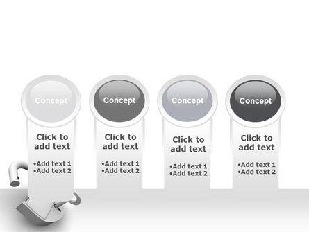 Unlocked Padlock PowerPoint Template Slide 5
