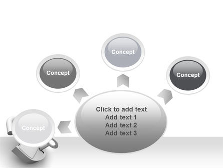 Unlocked Padlock PowerPoint Template Slide 7