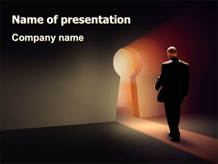 Finding Way Out PowerPoint Template