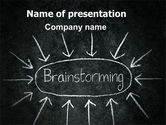 Business: Brainstorming PowerPoint Template #07268