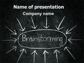 Business: Templat PowerPoint Brainstorming #07268