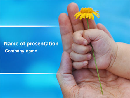 Little Hand PowerPoint Template