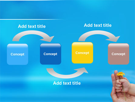 Little Hand PowerPoint Template Slide 4