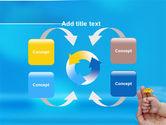 Little Hand PowerPoint Template#6