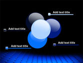 Blue Grid Surface PowerPoint Template#10