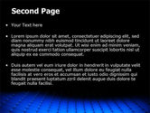 Blue Grid Surface PowerPoint Template#2