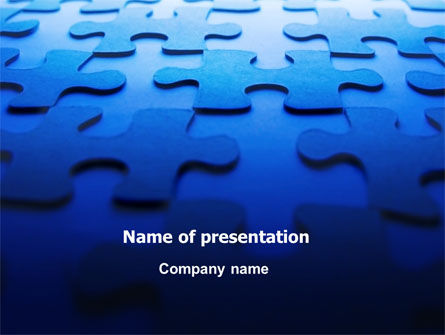 Free Blue Mind Breaker PowerPoint Template