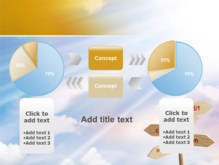 Credits and Loans PowerPoint Template Slide 16