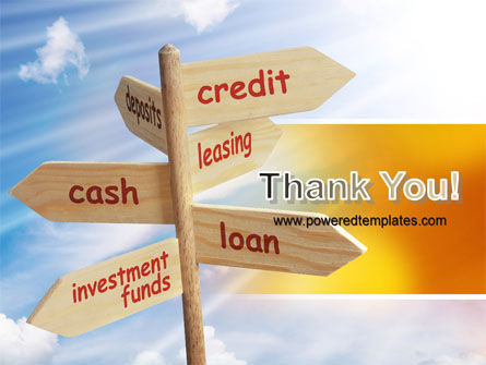 Credits and Loans PowerPoint Template Slide 20